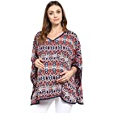 Wobbly Walk 2-in-1 Poncho for Maternity & Nursing (Multi)