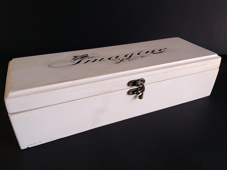Caja para pinceles chic de madera reciclada de palet Imagine ...