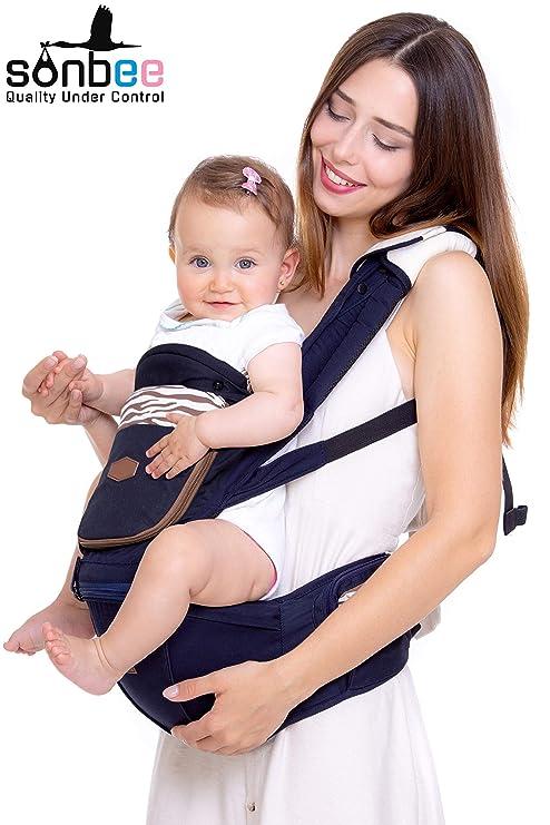 Storkee - Riñonera para recién nacidos ergonómica, 7 en 1 ...