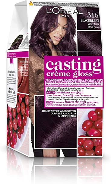 LOréal Paris Casting Crème Gloss 316 Blackberry coloración ...