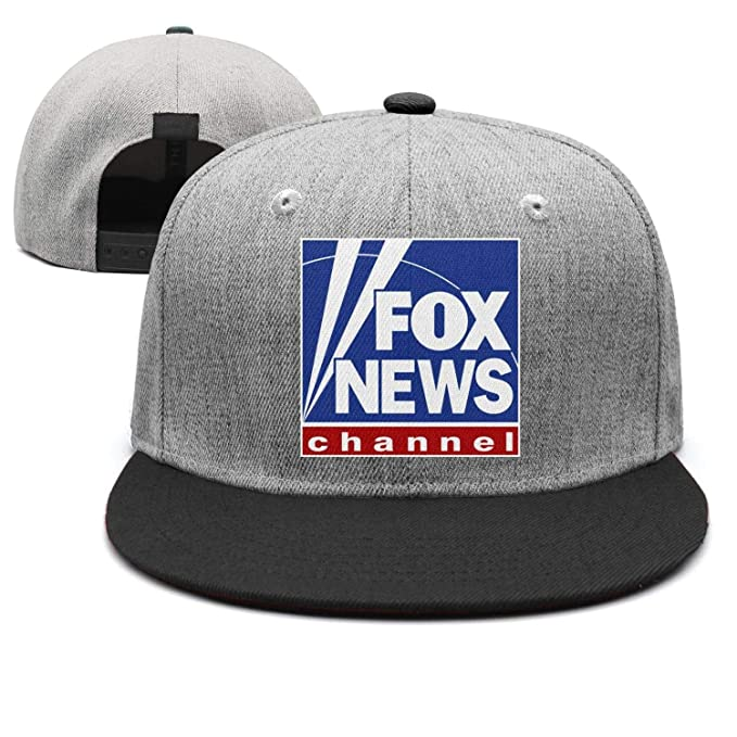 592d236812870 WTREUT Cotton Unisex Baseball caps Fox News Channel Logo dad hat One Size  Unisex Women Snapback