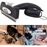 Dog Brush for Shedding or Cat Brush for Shedding that is Easy-to-Use & Can Reduce Shedding By 95% - Perfect Shedding Tool For Dogs or Cats or Horses
