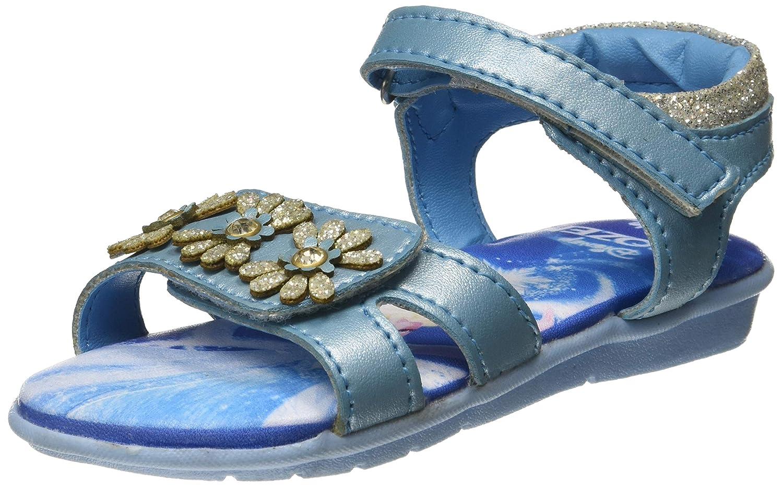 Disney Girl's Crytsal Blue Indian Shoes - 5 Kids UK/India (23 EU)(1710062)