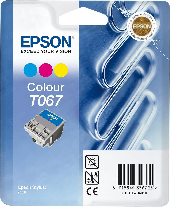Epson T0670 Tintenpatrone Heftklammern Multipack 3 Farbig Bürobedarf Schreibwaren