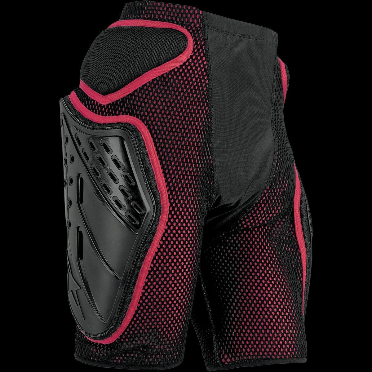 Alpinestars Bionic Freeride Shorts (Black/Red, Large)