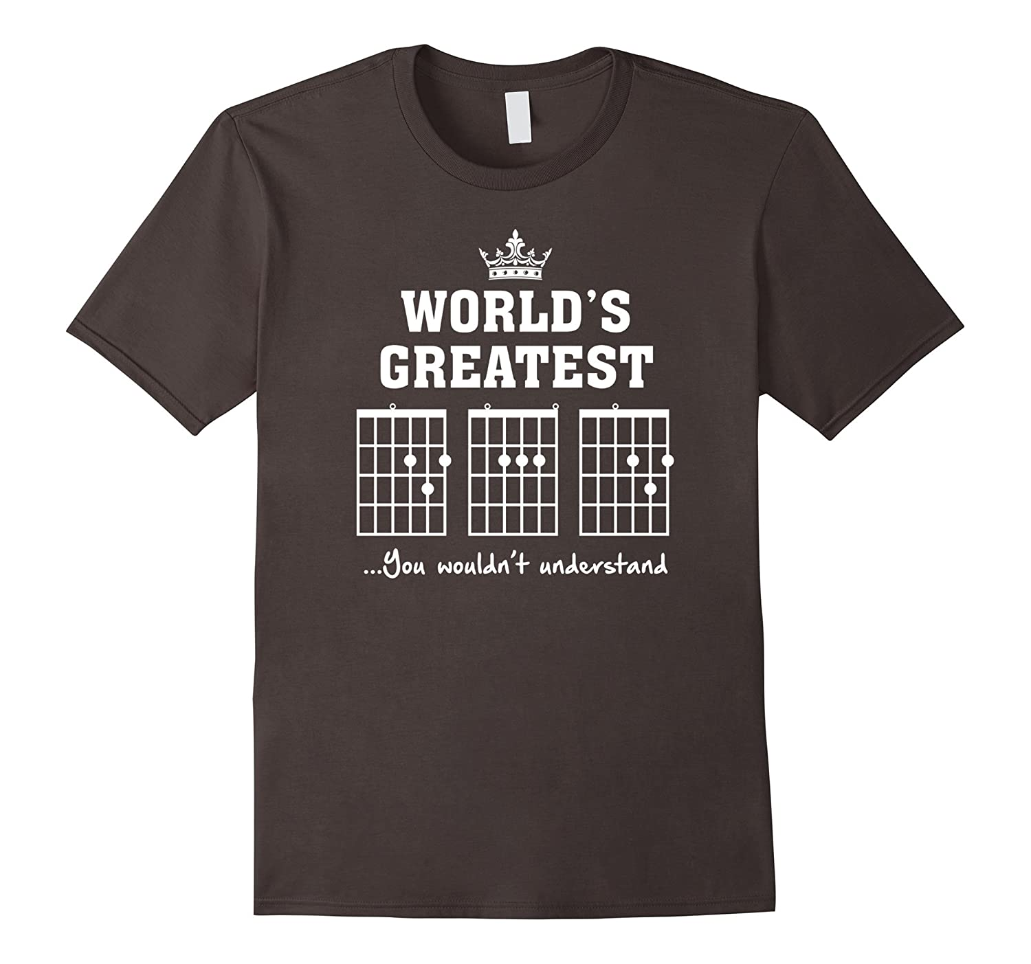 F chord DAD funny guitar T shirt – Unique Father's Day Gift