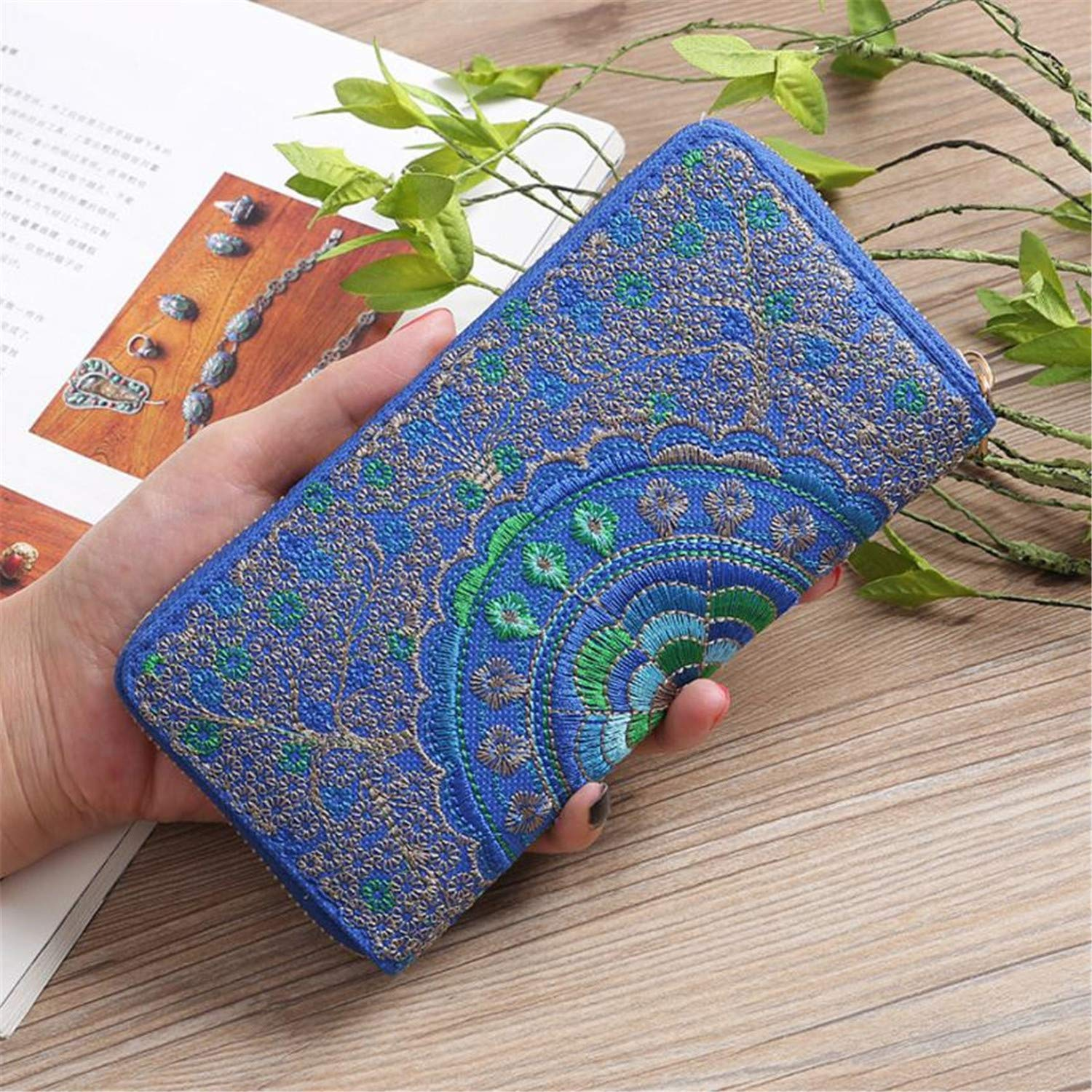 Oxford Embroidery Road Womens Wallets And Purses Wallet Coin ...
