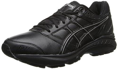 a6dfb7963 Asics Gel-Foundation Walker 3 Mujer US 7 Negro Zapatos para Caminar   Amazon.es  Zapatos y complementos