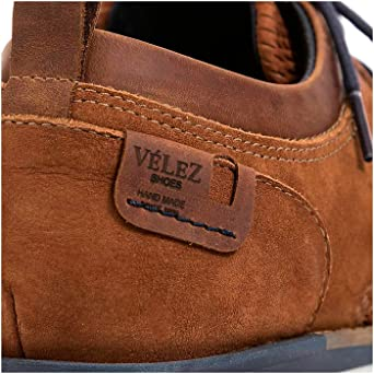 Amazon.com: VELEZ Mens Genuine Colombian Leather Classic Oxford Shoes Cap toe Business Formal Lace up Shoes | Zapatos de Cuero Colombiano para Hombres Honey ...