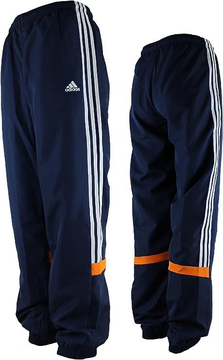 Adidas Hombre Pantalones de Chándal Mens IIC Woven Pant 3 Stripe ...