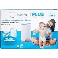 Korbell - Recambios para cubo de pañales (tamaño
