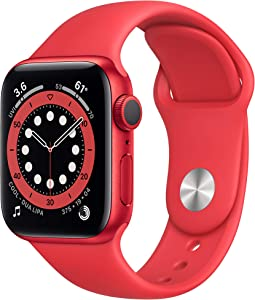 New Apple Watch Series 6 (GPS, 40mm) - (PRODUCT)RED - Aluminum Case with (PRODUCT)RED? - Sport Band