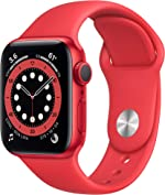 New Apple Watch Series 6 (GPS, 40mm) - (Product) RED -