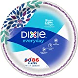 Dixie Everyday Dinner Plates, Mega Pack, 10 1/16 Inch, 86 Count
