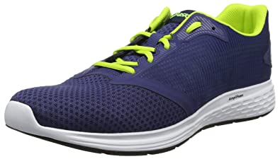 hot sale online b74d7 5786c Asics Patriot 10, Chaussures de Running homme - Bleu (Deep Ocean Flash  Yellow