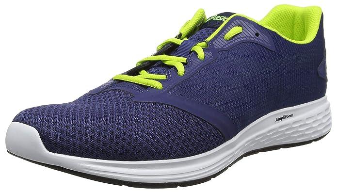 Asics Patriot 10 Sneakers Laufschuhe Herren Blau/Gelb