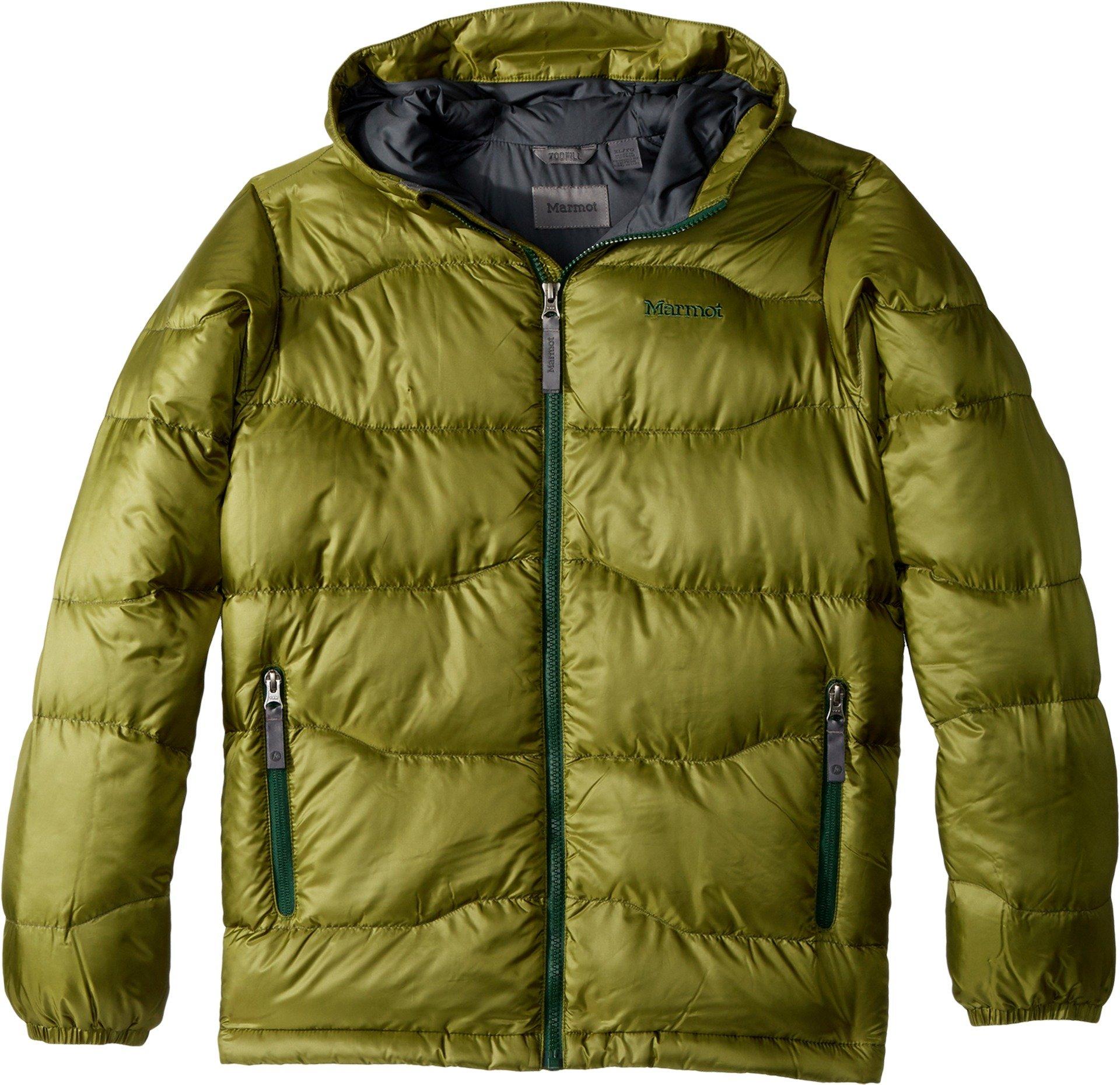 Marmot Kids Boy's Boy's AMA Dablam Jacket (Little Kids/Big Kids) Cedar Medium by Marmot