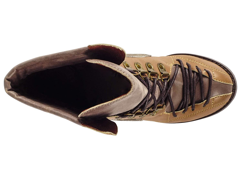 Tan//Brown Multi Sachelle Salt Ankle Boot Leather 5.5