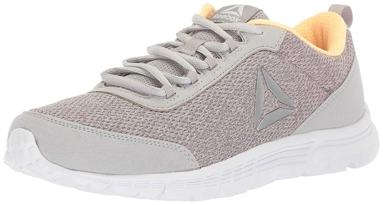 Reebok Women's Speedlux 3.0 Sneaker B073YDNVFC 8 B(M) US|Stark Grey/Desert Glow/White
