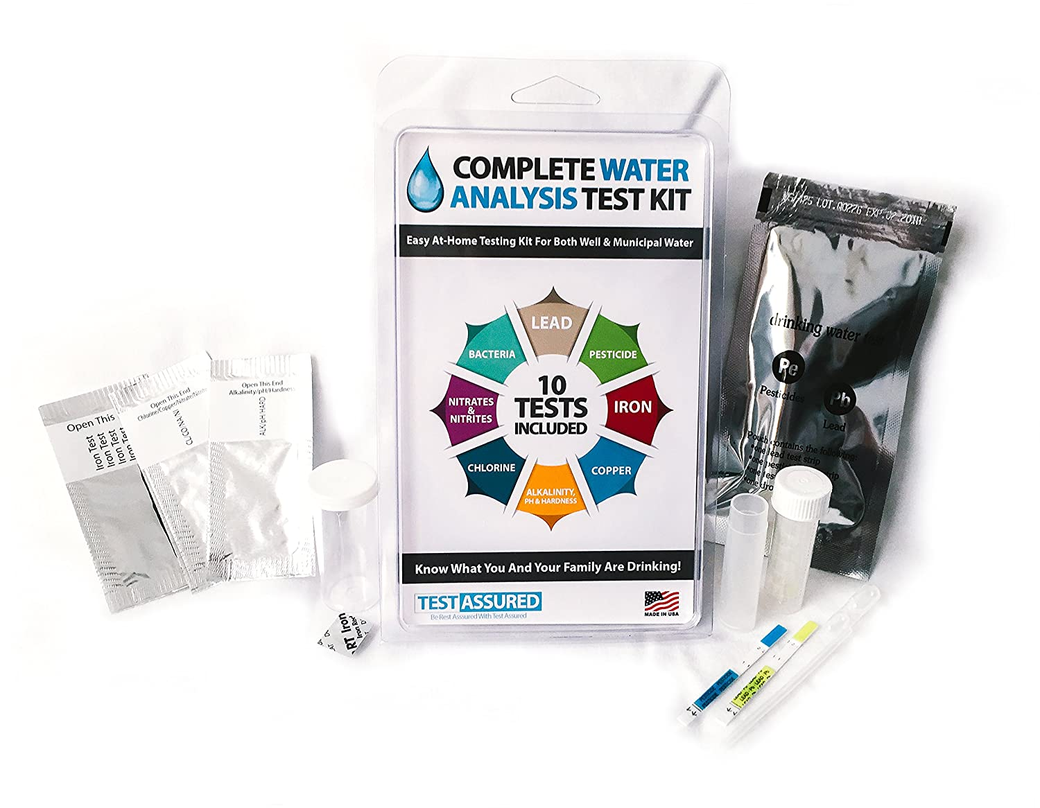 water analysis The dissolved mineral content in your drinking water can be easily diagrammed to show you the concentration of various compounds learn how to express the amount of minerals and hardness producing compounds in water.