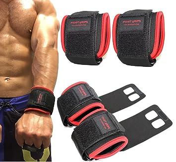 Giro agarre guantes de entrenamiento de Cruz y levantamiento de peso muñeca wraps-2 en