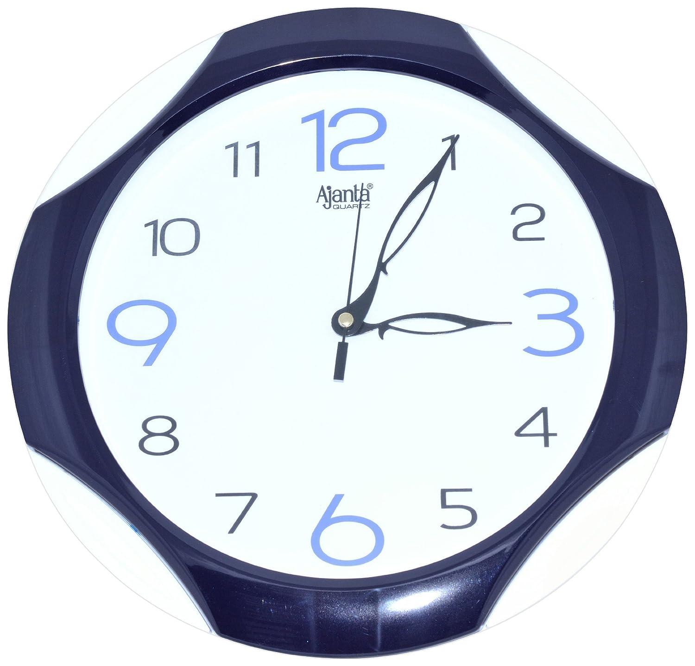 Buy ajanta simple clock blue 2117 online at low prices in india buy ajanta simple clock blue 2117 online at low prices in india amazon amipublicfo Images