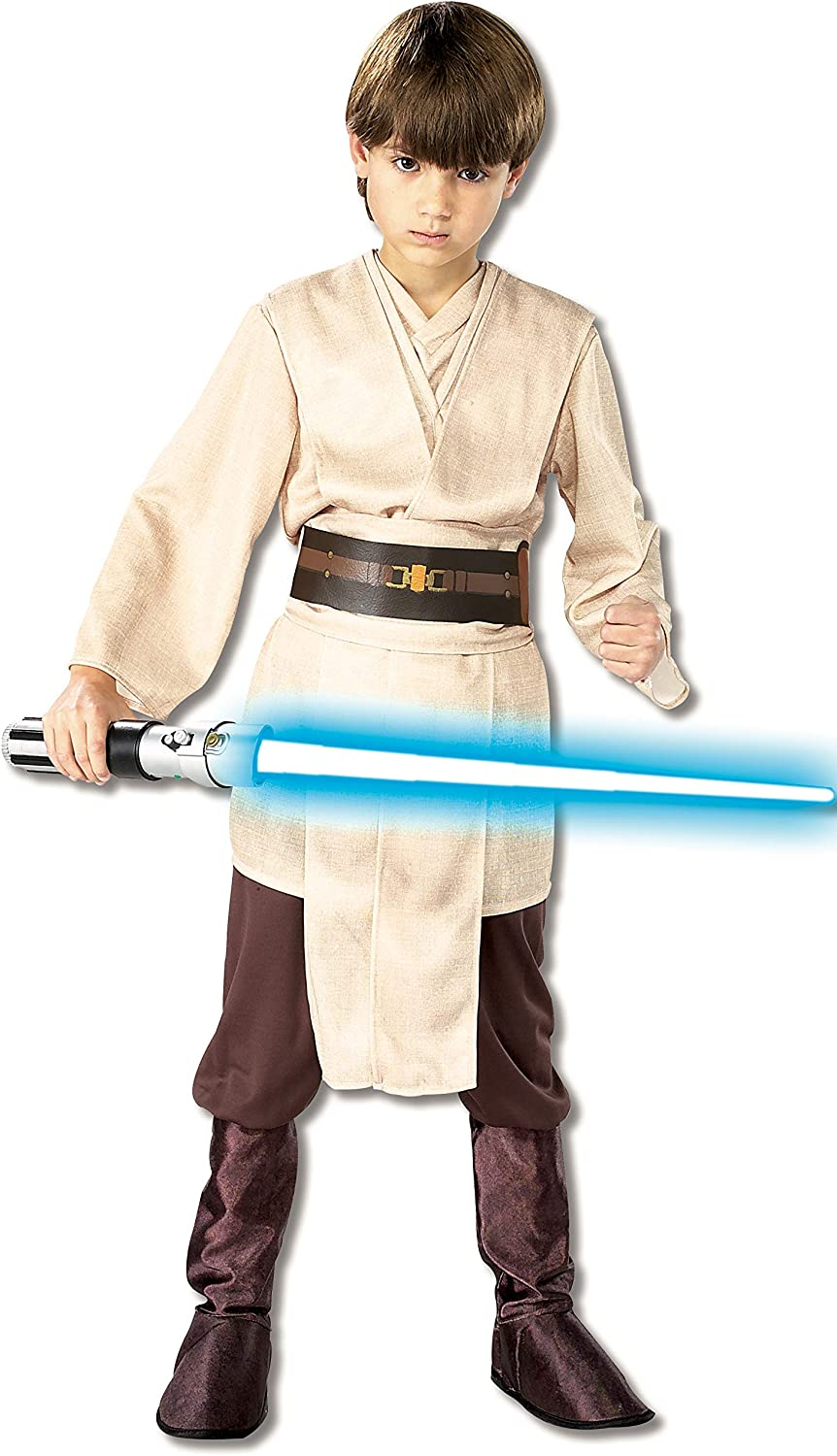 Rubies Star Wars Classic Child's Deluxe Jedi Knight Costume, Large
