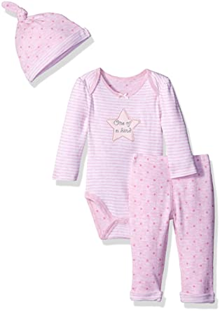 167aaabf081 Amazon.com: Sterling Baby by Vitamins Baby Girls' Pant Set with Hat:  Clothing