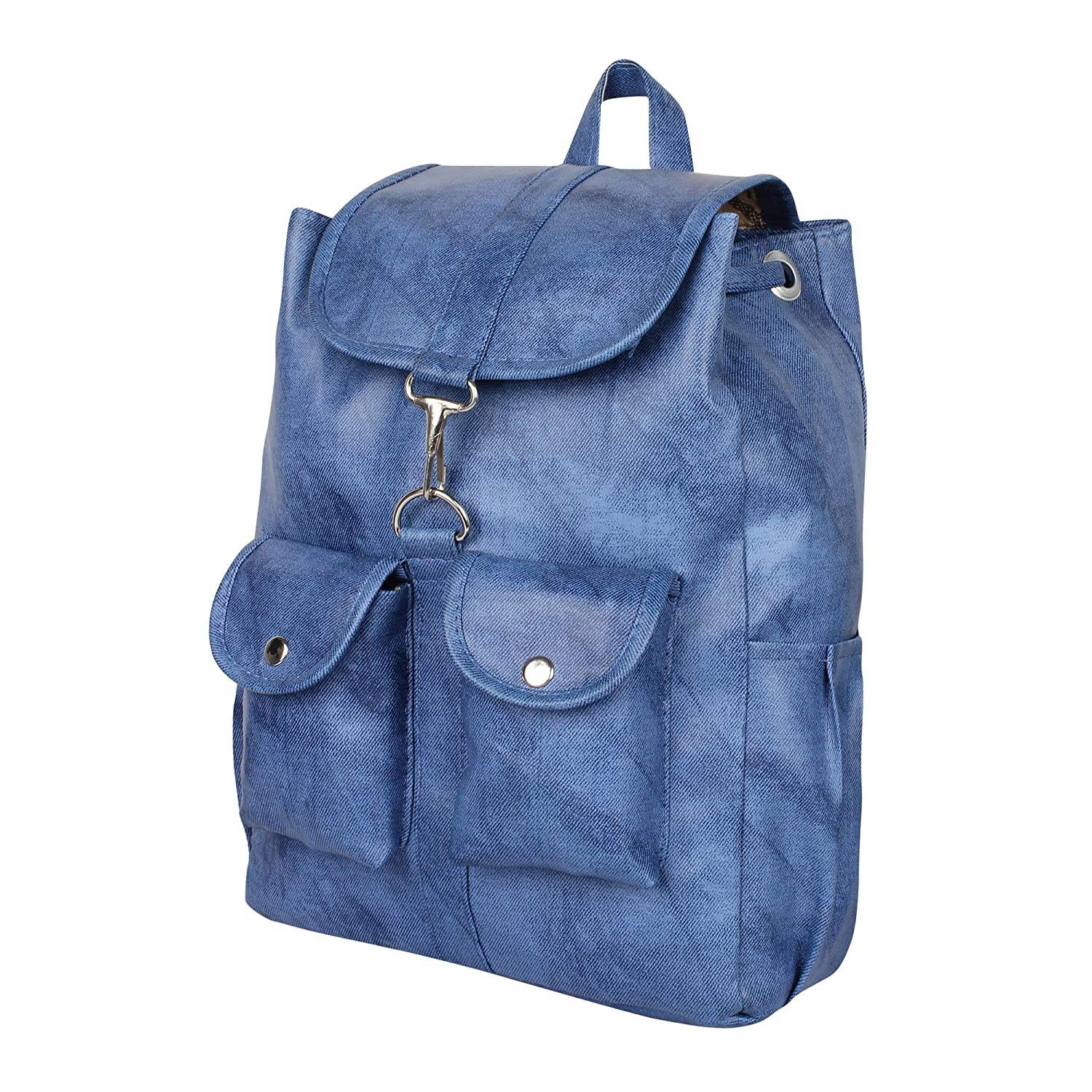 Rajni Fashion Stylish PU Leather Blue Backpack for Girls and Women s   Amazon.in  Shoes   Handbags d9817991e8