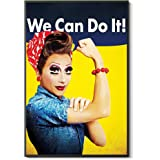 ARCHERS Rio Drag RuPaul Del RuPauls Queen Fandom Bianca Shade Race Gay The Best and Style Home Decor Wall Art Print Poster wi