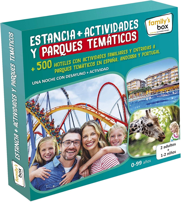 family box estancia + actividades y parques tematicos