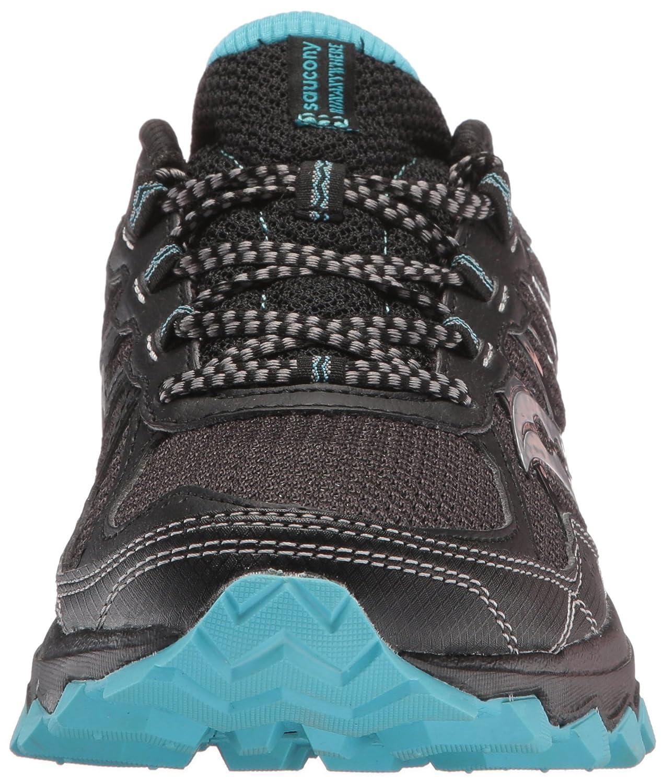 Saucony Women's Excursion Tr11 Running-Shoes B01MR01XJ7 12 B(M) US|Black Blue