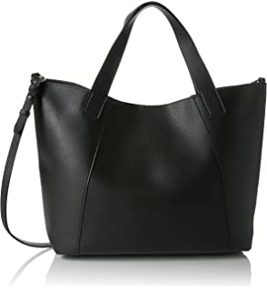 Womens Metal Handle Shopper Shoulder Bag Black (Black) Dorothy Perkins