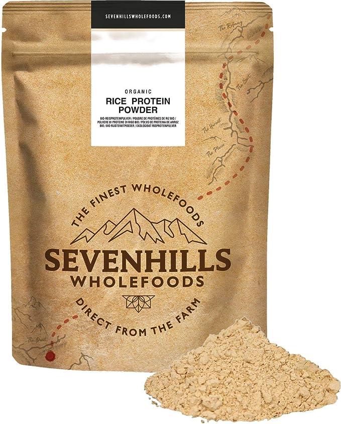 Sevenhills Wholefoods Proteína de arroz orgánico en polvo 2kg