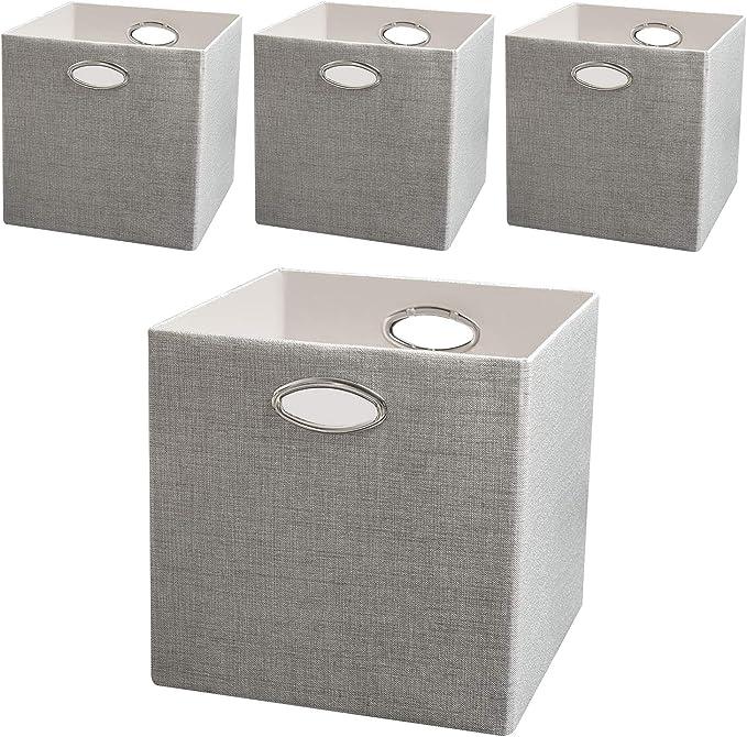 Posprica Cajas de almacenamiento, contenedores para estante, cajas ...