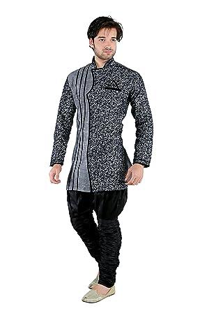 0f39f0aa60 NEW LOOKS Men s Linen Kurta Pyjama  Amazon.in  Clothing   Accessories