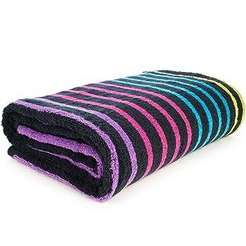 Sorema Flash - Toalla para baño, de algodón, 70 x 140 cm, color: Amazon.es: Hogar