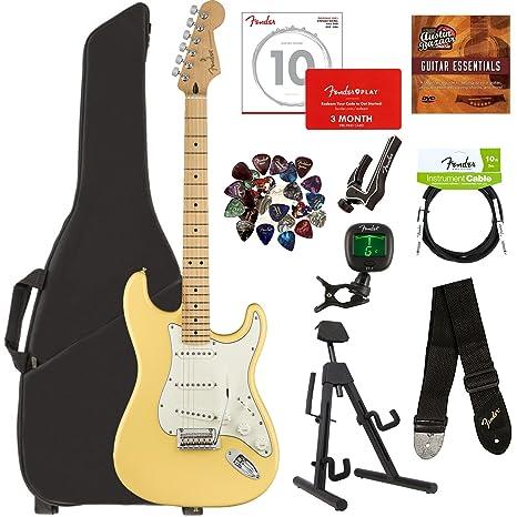 Fender Player - Lote de guitarras con bolsa para guitarra