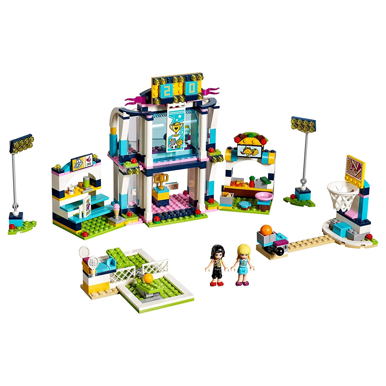 Lego 41338 Friends Heartlake Stephanies Sports Arena Playset