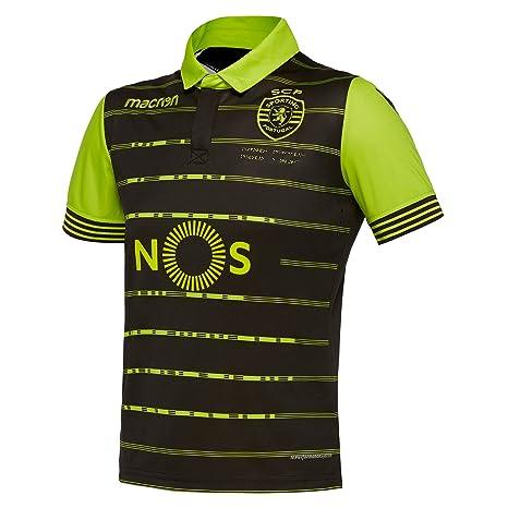 Macron Camiseta Segunda equipación niño Sporting Clube de Portugal 2017/18
