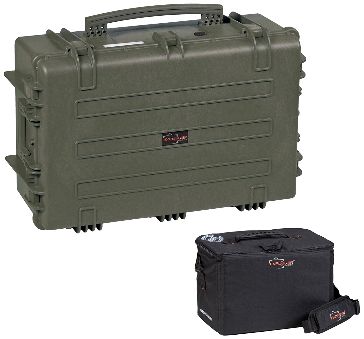 Explorer Cases 7630ktgl 7630 Case With Custom Removable Nanuk Padded Divider Insert For 915 Bag Cameras Or Similar Electronic Gear And Organizer Lid Panel
