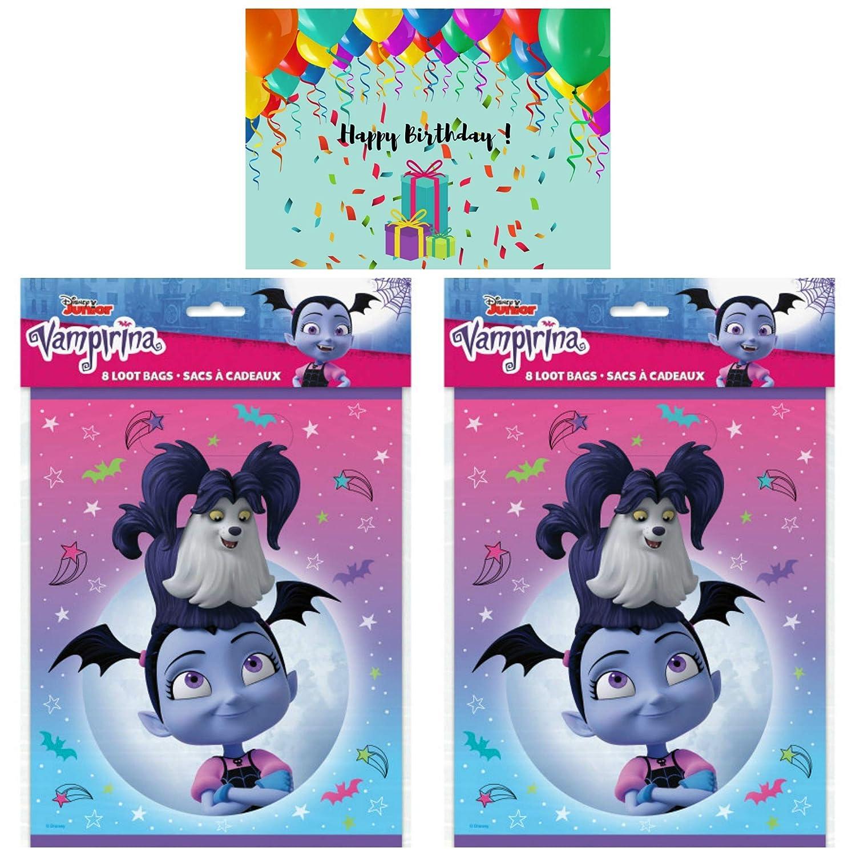 Amazon.com: JPMD Vampirina Party Supplies - Juego de 16 ...