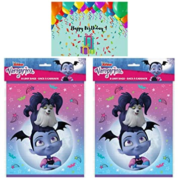 Amazon.com: JPMD Vampirina Party Supplies - Juego de 16 ...