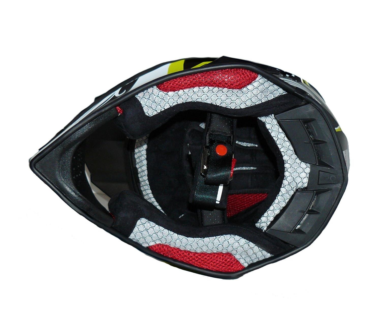 Multicolore protectWEAR Casco Cross//Enduro senza Visiera Taglia XL