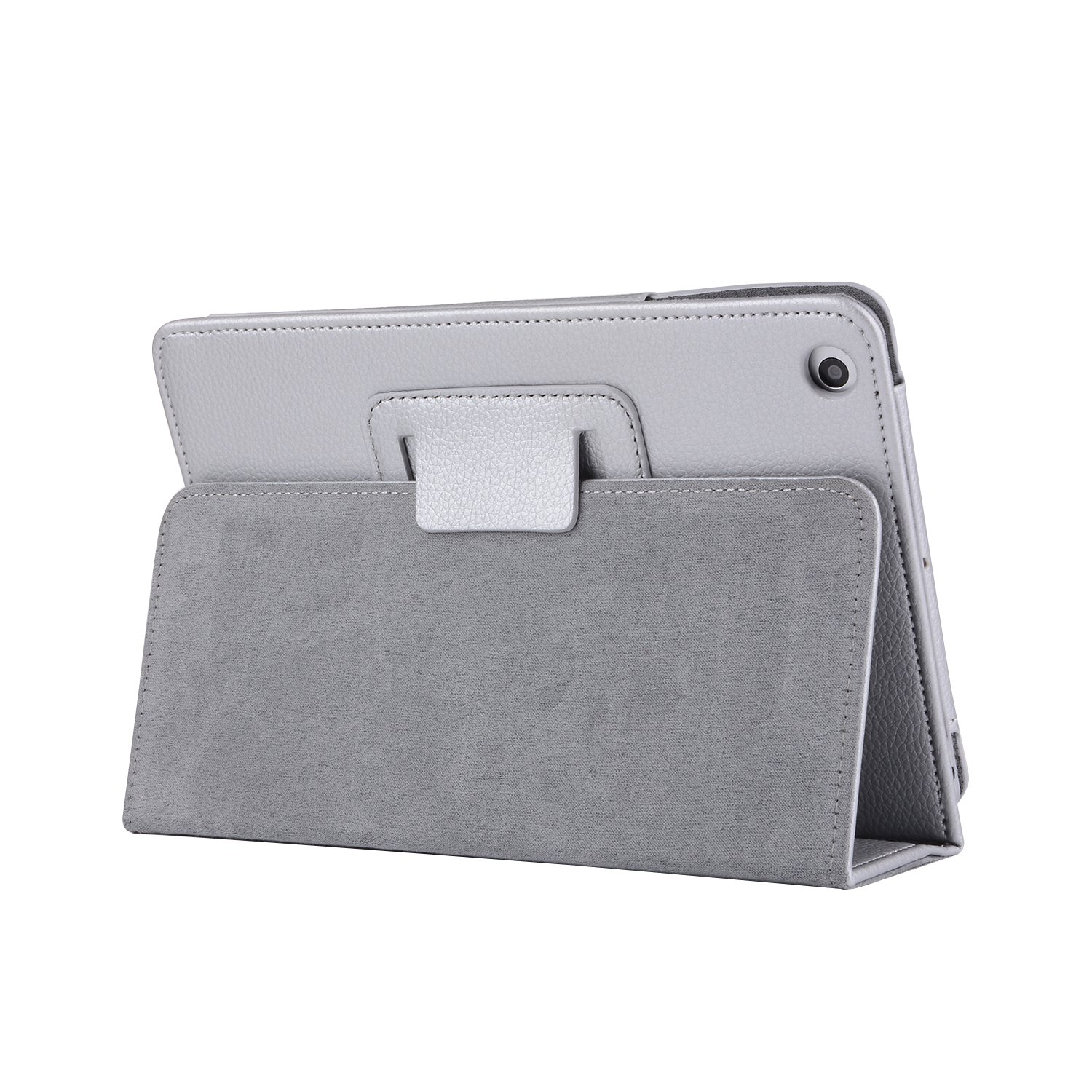 Pro 10.5 iPad Case, Skin Cover PU Leather Lightweight Slim Shell Shockproof Waterproof Tablet PC Case Stand Function Shell iPad Pro 10.5 - Silver