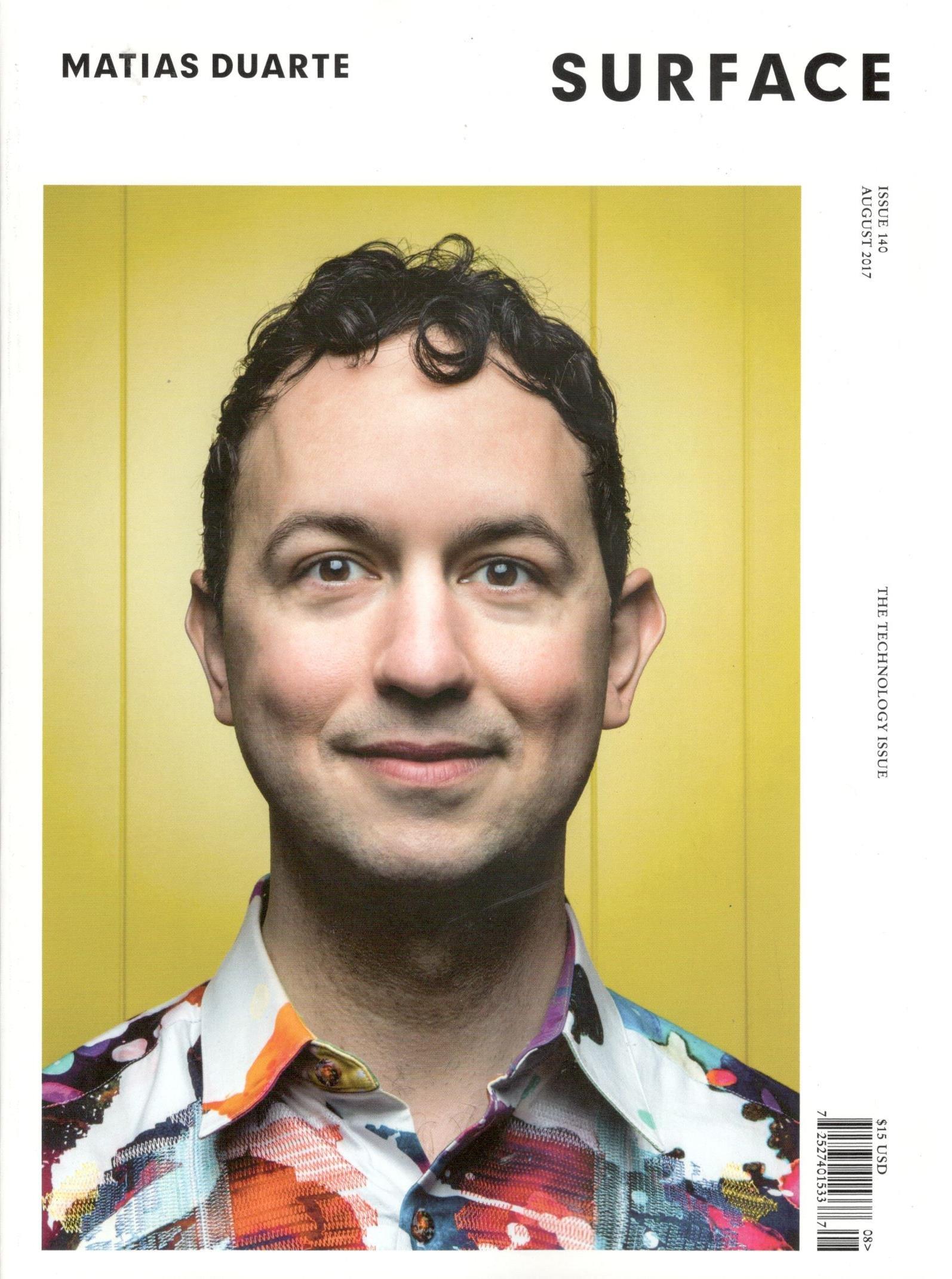 Surface Magazine Issue 140 (August, 2017) Matias Duarte Cover pdf