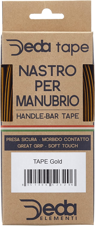 Deda Logo Tape Carbon Look Gold