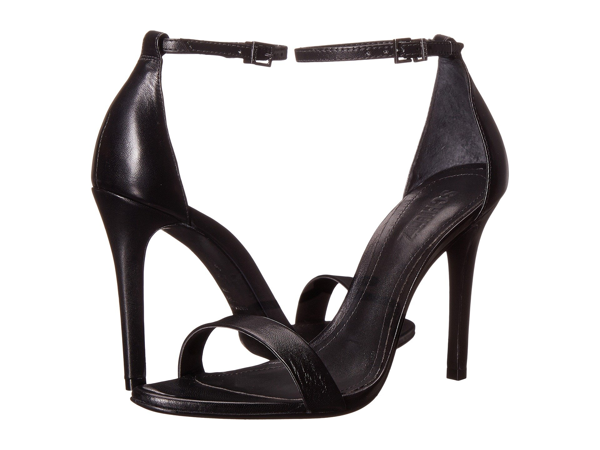 Schutz Women's Cadey-Lee Black 1 9 M US by SCHUTZ (Image #7)