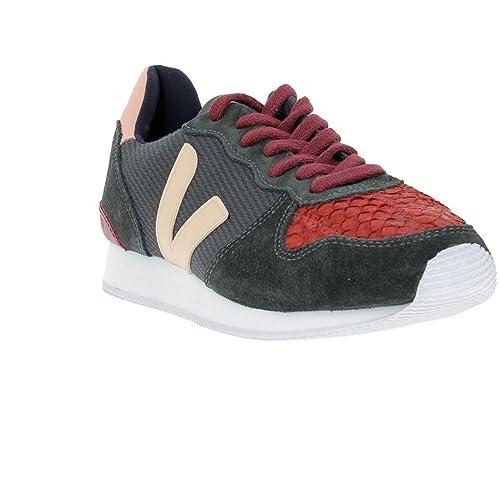 VEJA - Zapatillas de Deporte de Otra Piel Mujer, Gris (Grafite Blush), 37: Amazon.es: Zapatos y complementos