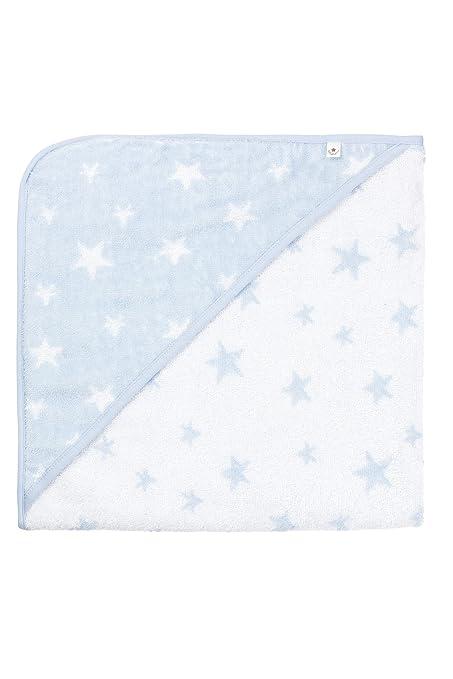 Bellybutton 10960-40248 - Toalla con capucha para bebés, con diseño de estrellas,